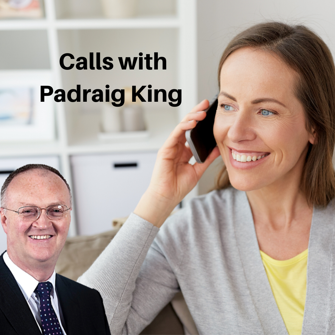 Book Your Call With Padraig King https://padraigking.as.me