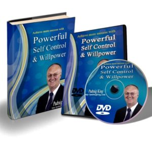 Self Control and Willpower Live Training with Padraig King