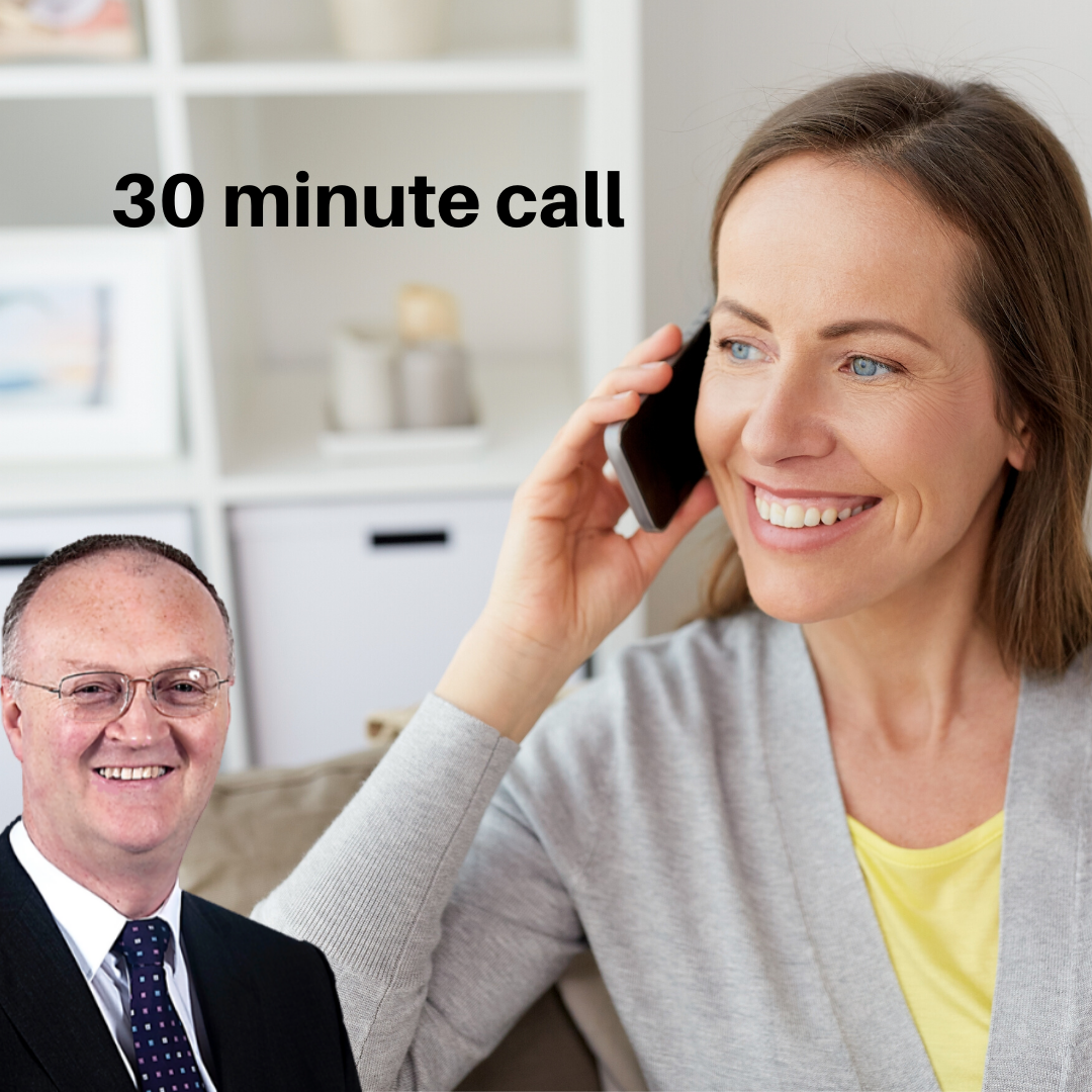 30 Minute Call from Padraig King https://padraigking.as.me/30