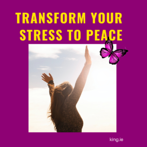 Read Listen or Watch How to Transform Your Stress to Peace by Padraig King