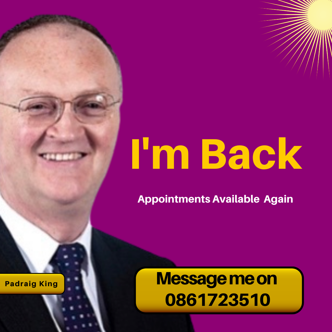 Book Now with Padraig King at https://padraigking.as.me/