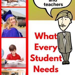 What Every Student Needs Now