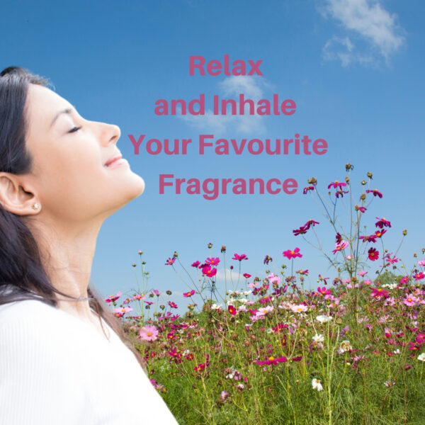 Relax and Inhale Your Favourite Fragrance is a simple relaxing visualisation by Padraig King ©️Padraig King 2020 - king.ie
