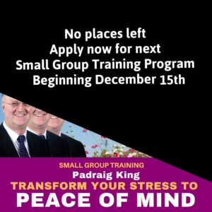 Transform Your Stress to Peace of Mind – Small Group Training Program