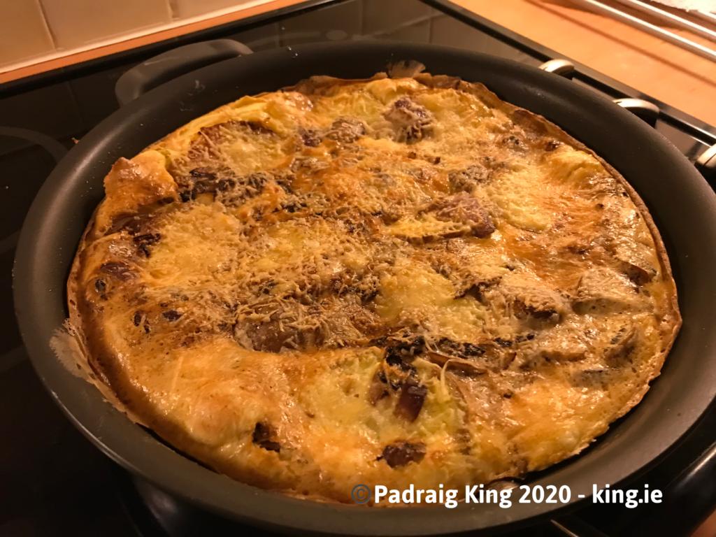 Golden Omelette a la King - by Padraig King