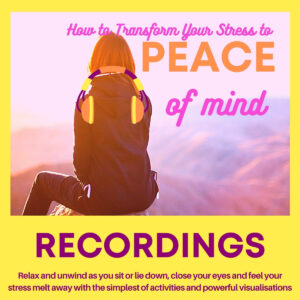 aUDIO recordings for Personal Guidebook to Transform Your Stress To Peace of Mind